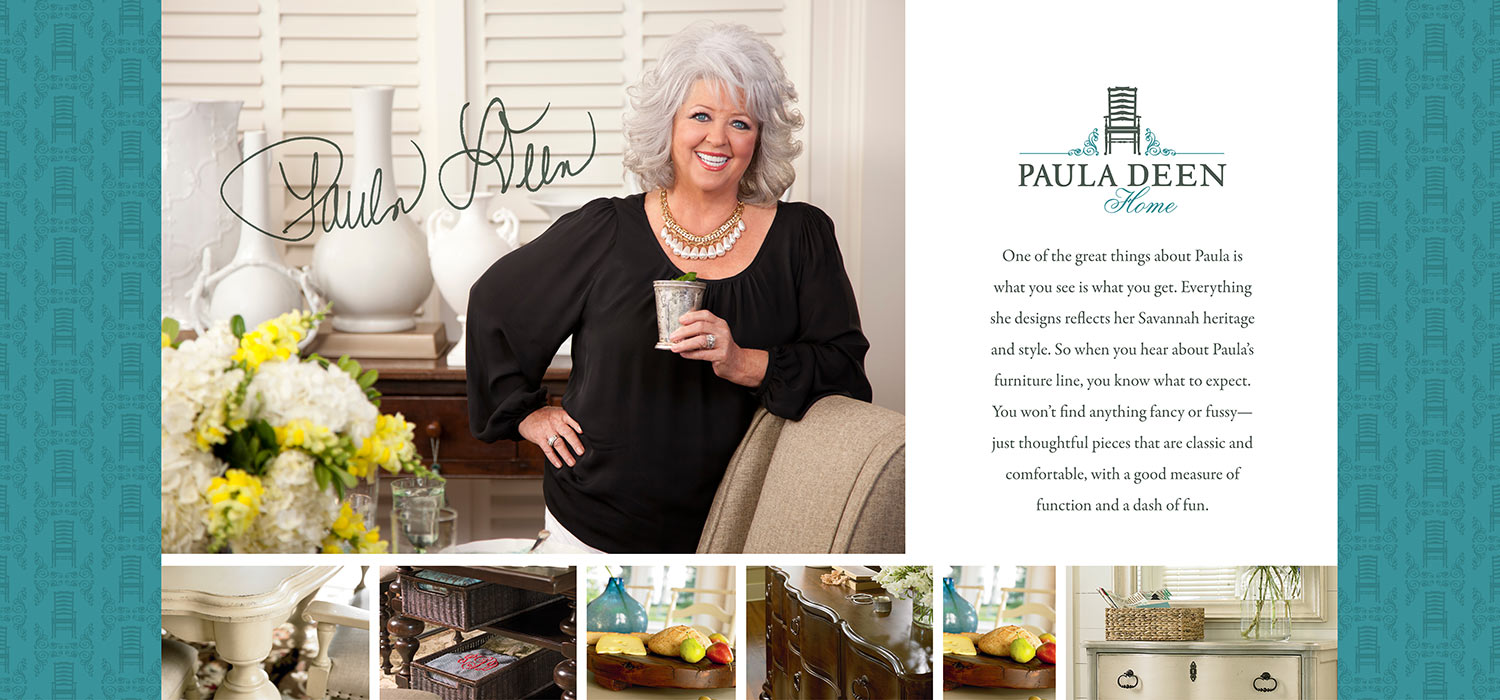 Join Our Family. Home U003e; Paula Deen By Universal